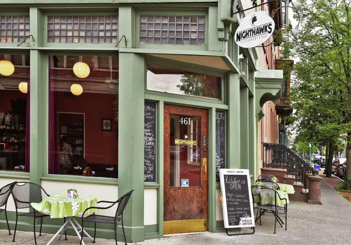 Nighthawks restaurant in Troy, NY. (John Carl D'Annibale/Times Union)