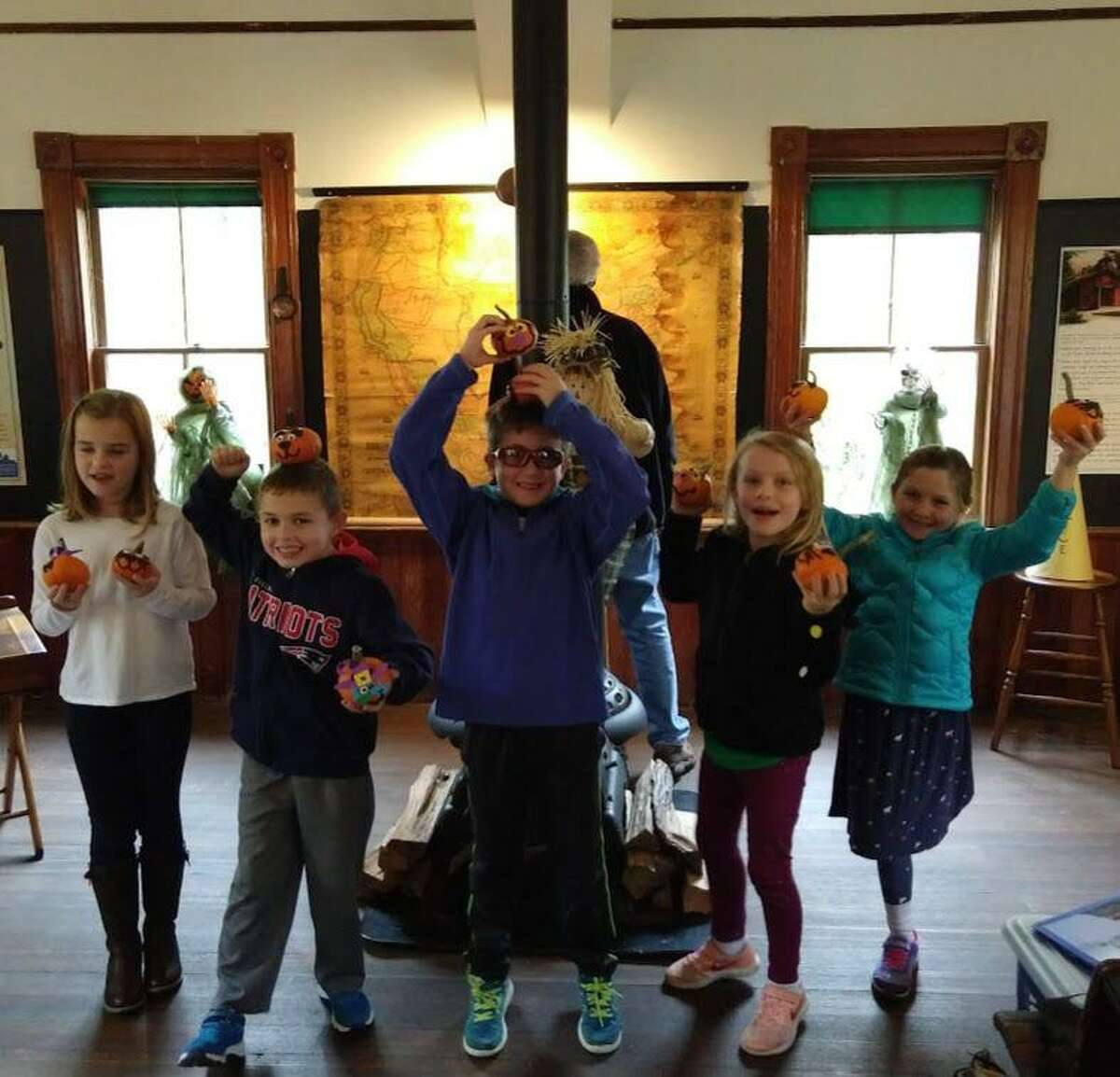 The Peter Parley Schoolhouse will celebrate the end of its season of open houses with a Halloween party for families on Sunday, Oct. 27.