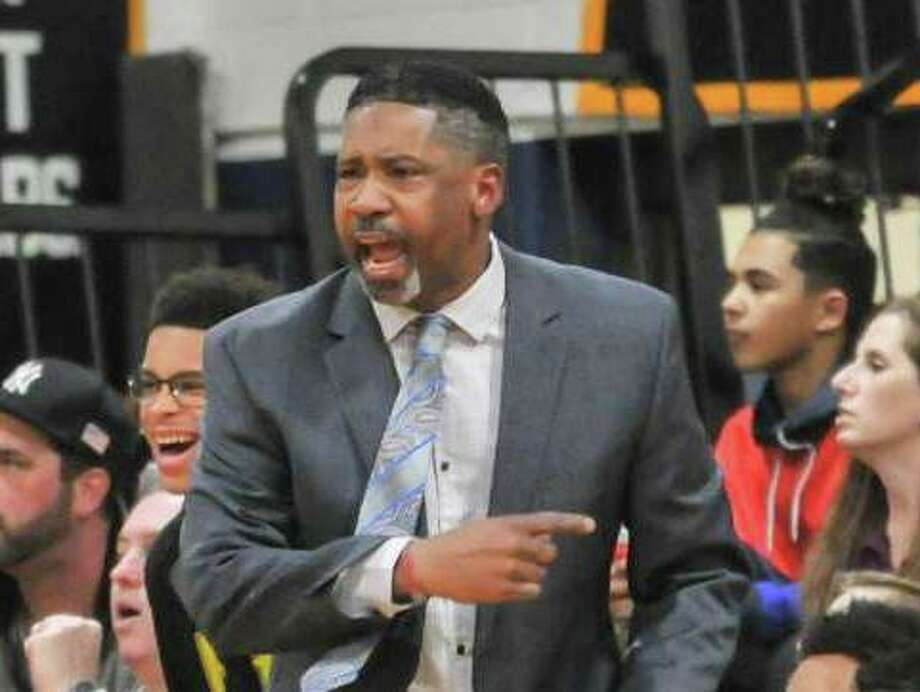 Notre Dame-Fairfield boys basketball coach Chris Watts has resigned to take an assistant men's position at Division II Mercy College. Photo: Gregory Vasil / For Hearst Connecticut Media / Milford Mirror