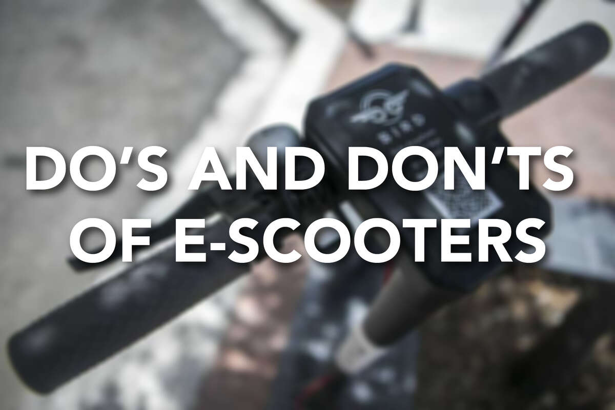 Continue ahead for a look at some common sense do's and don'ts for riding e-scooters.