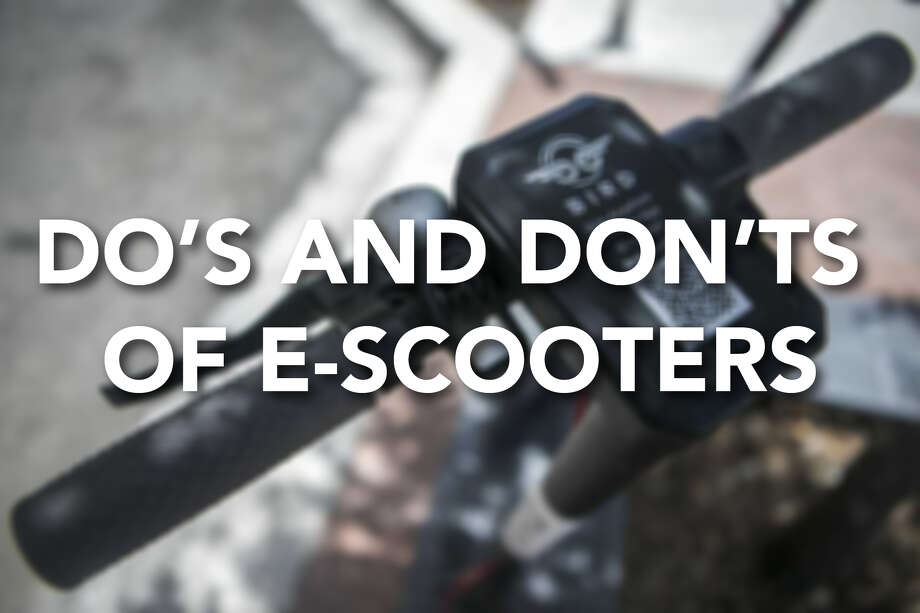Continue ahead for a look at some common sense do's and don'ts for riding e-scooters. Photo: Contributed