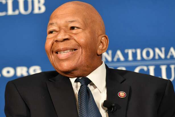 Rep. Elijah Cummings, D-Md., speaks at an Aug. 7 luncheon at the National Press Club in Washington, D.C. Cummings died Thursday. He was 68.