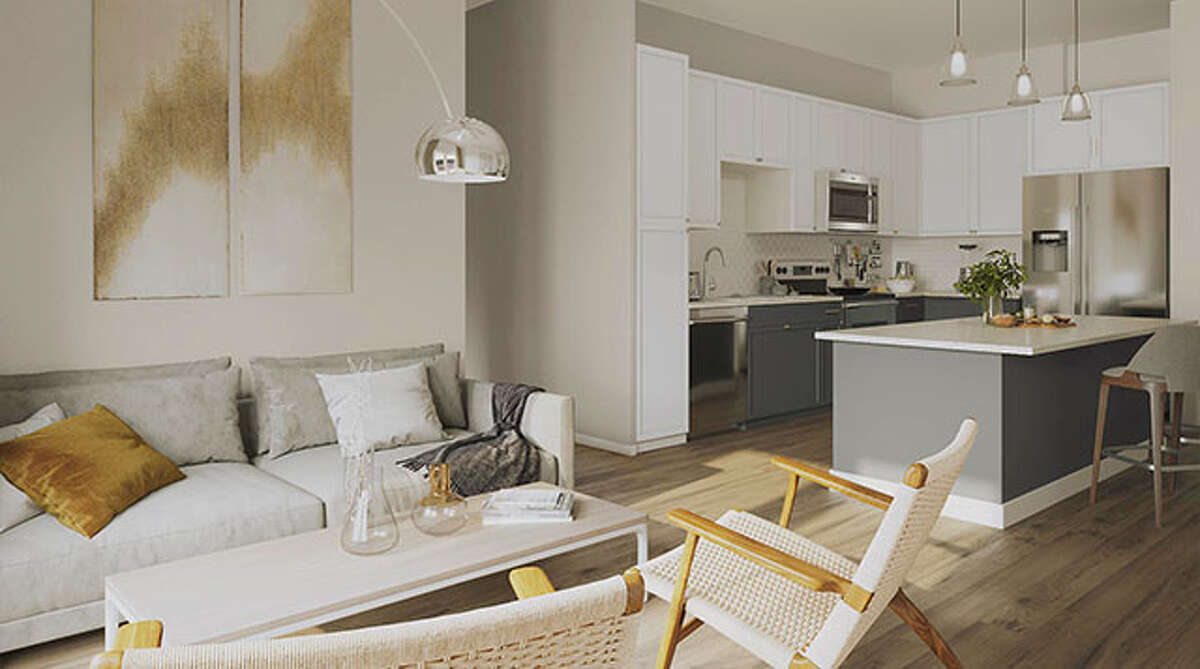 Southline Residences at 226 Newell Avenue in downtown has one- and two-bedroom apartments available and offers convenience to San Antonio's cultural center.