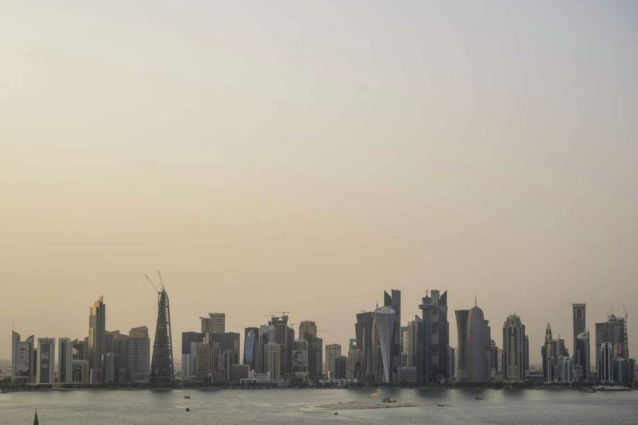 The skyline in Doha, Qatar, in July 2019. Photo: Washington Post Photo By Salwan Georges / The Washington Post