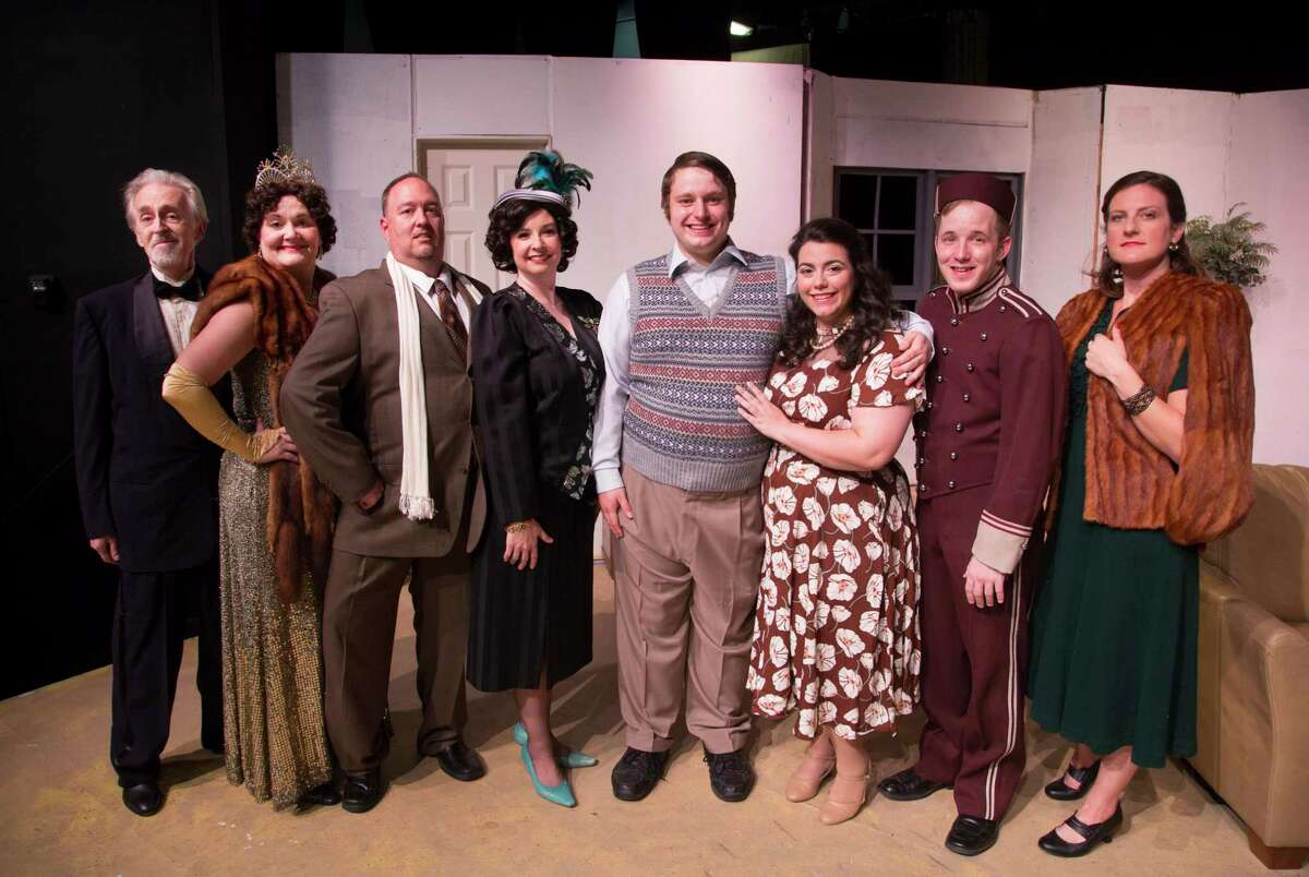 Pictured is the cast of The Players Theatre Company's
