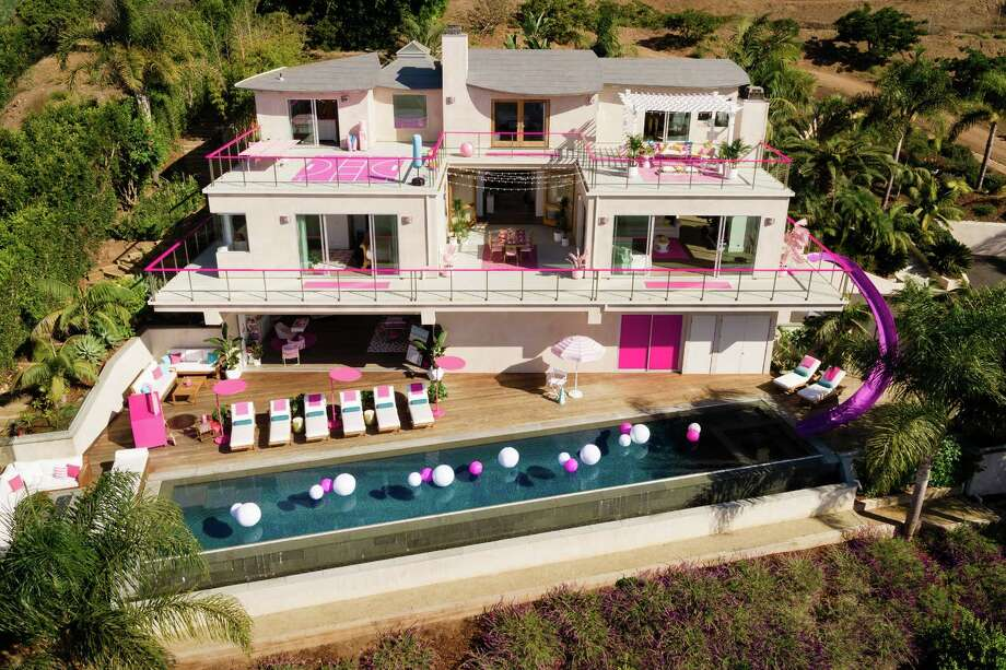 Barbie's Malibu Dreamhouse is available on Airbnb for two nights only. Photo: Courtesy Of Airbnb