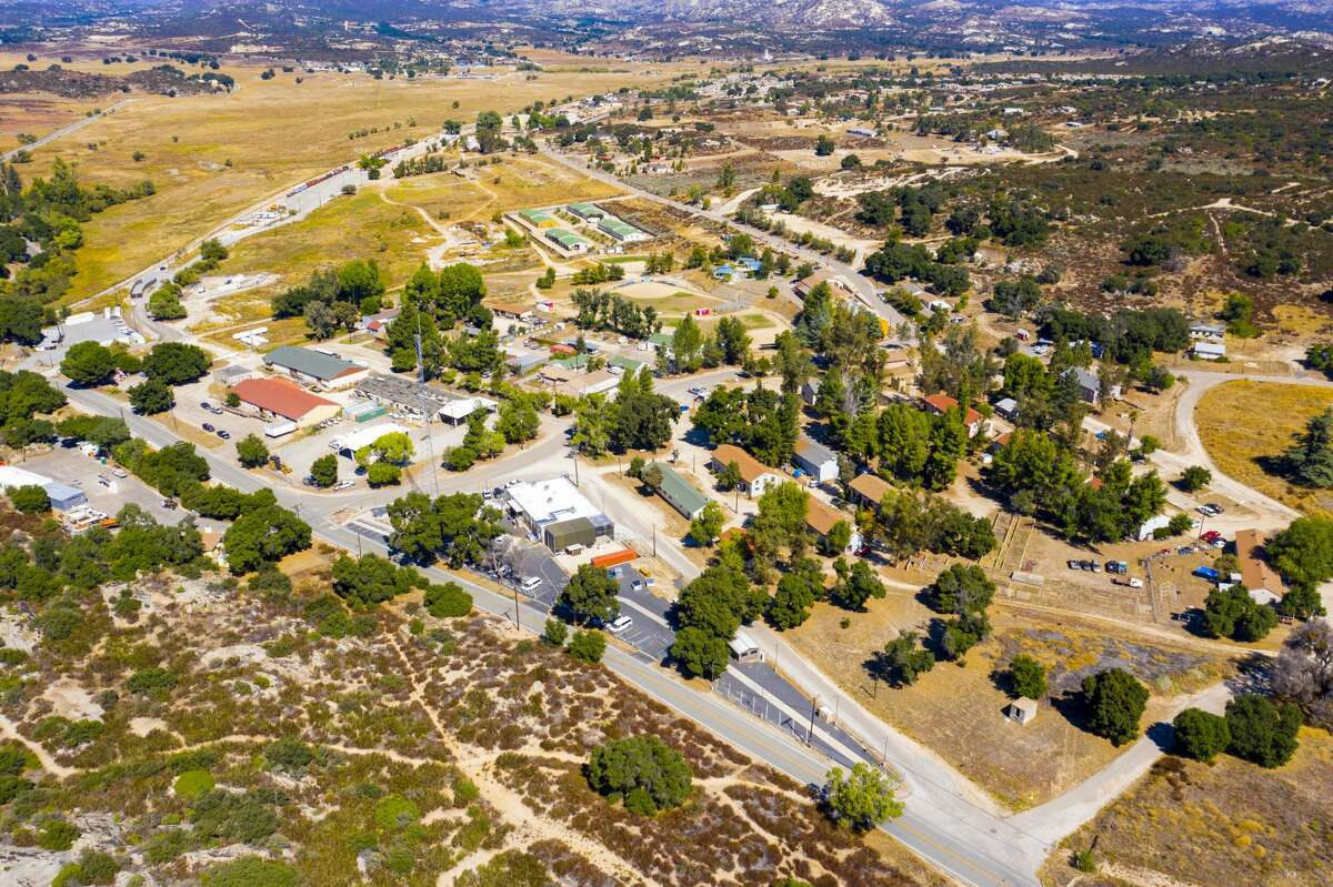 The town of Campo, Calif., located about 50 miles east of San Diego, is for sale at $5.5 to $6 million dollars.