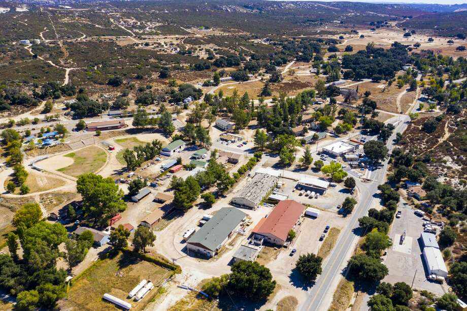 The town of Campo, Calif., located about 50 miles east of San Diego, is for sale at an estimated $5.5 to $6 million dollars. Photo: HMBD Empire