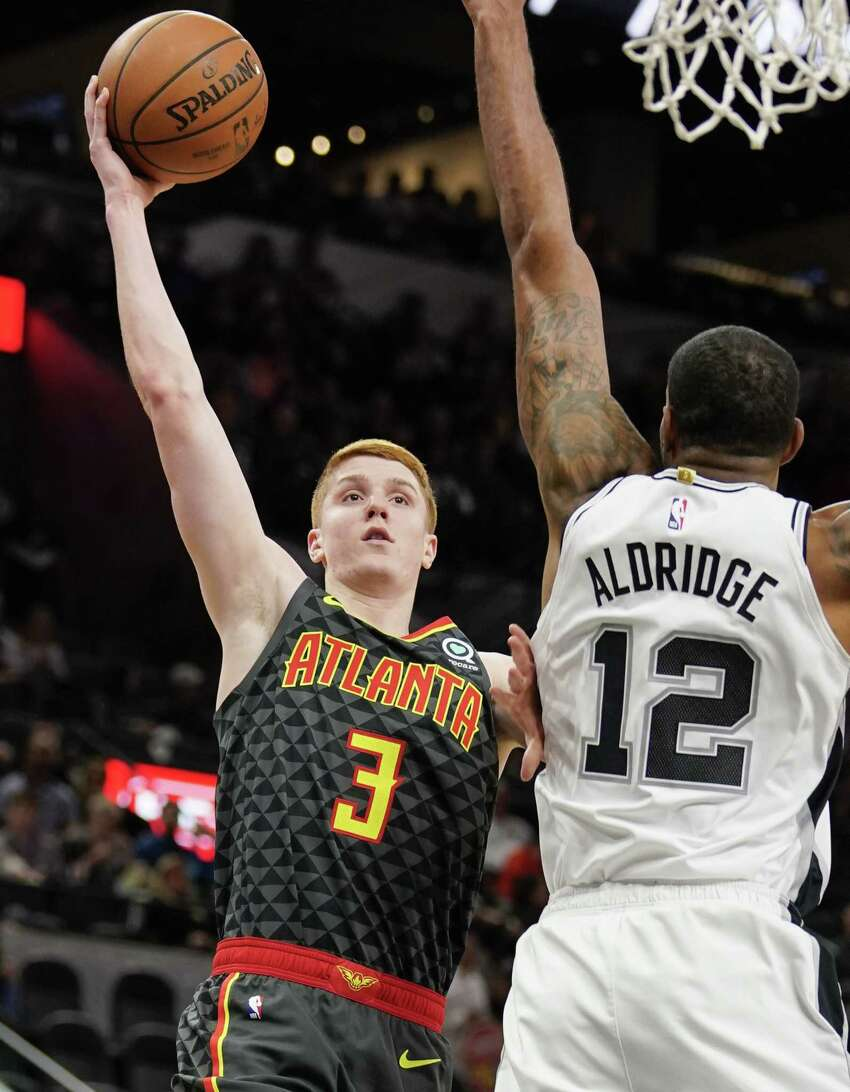 Clifton Park's Kevin Huerter and his Atlanta Hawks will be seen only 16 times this season on Capital Region TV sets. (Darren Abate/Associated Press)