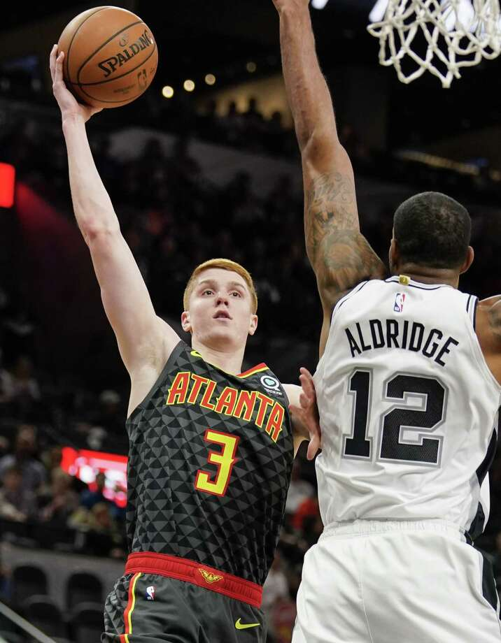 Clifton Park's Kevin Huerter and his Atlanta Hawks will be seen only 16 times this season on Capital Region TV sets. (Darren Abate/Associated Press) Photo: Darren Abate / Copyright 2019 The Associated Press. All rights reserved.