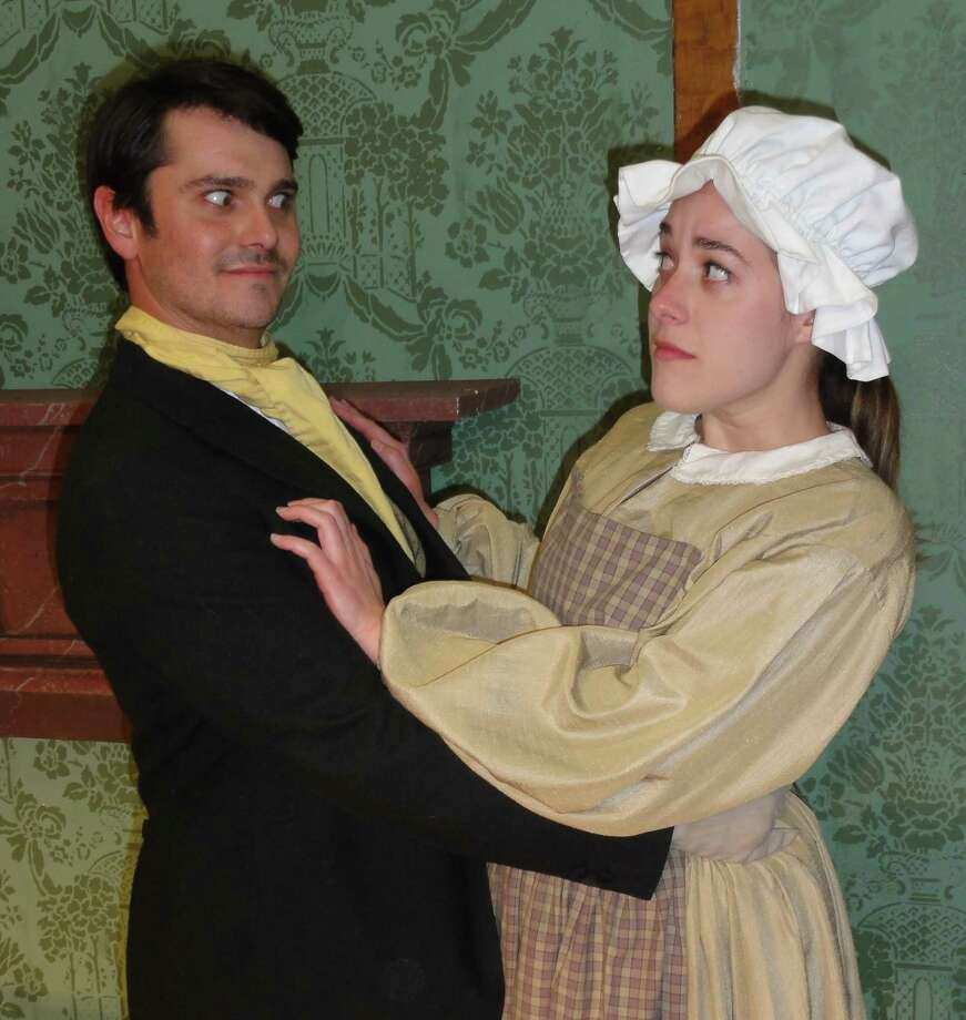 "Arthur ""Kitt"" Watson and  Emily Vrissi star in Ladies in Retirement. Photo: Contributed Photo"