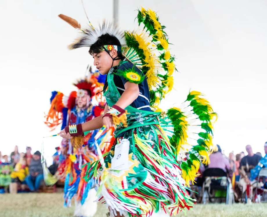 Experience Native American culture at the 9th Annual Sacred Springs Powwow. The event takes places this weekend at the Meadows Center for Water and the Environment. Photo: Sacred Springs Powwow