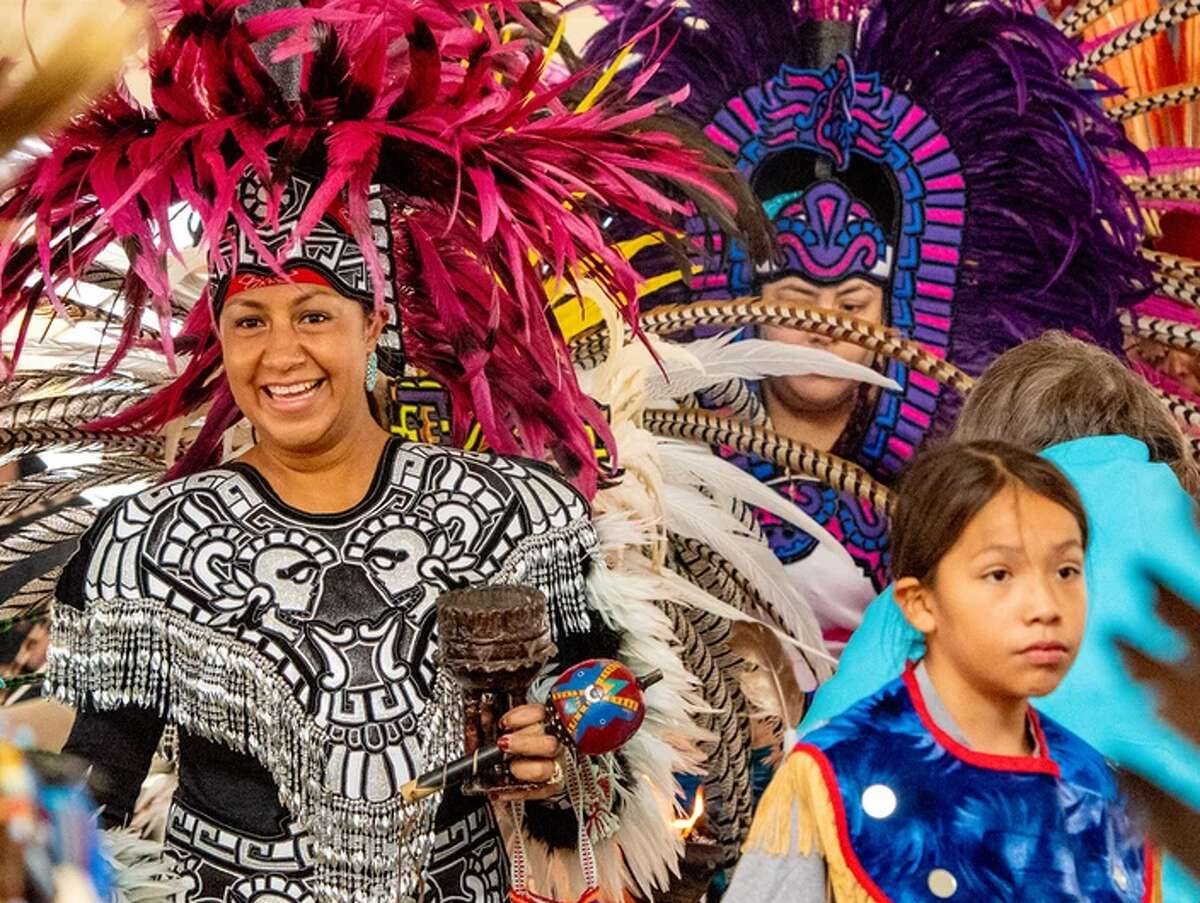 Experience Native American culture at the 9th Annual Sacred Springs Powwow. The event takes places this weekend at the Meadows Center for Water and the Environment.