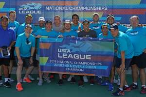 A men's tennis team from The Woodlands captured the national title at the USTA League Adult 40 & Over 4.0 National Championships held last weekend in Surprise, Ariz.