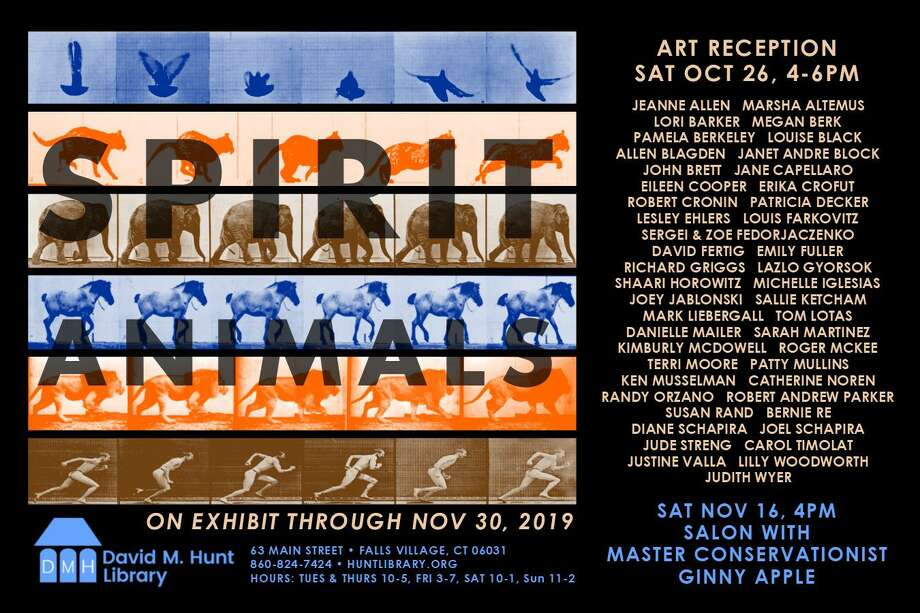 """""""Spirit Animals,"""" the Hunt Library's new exhibit, opens Oct. 26 with a public reception. Photo: Hunt Library / Contributed Photo"""