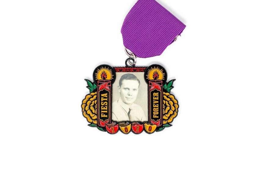 Locket-like medal that combines Fiesta, Dia de los Muertos San Antonio Flavor Manufacturer Garrett Heath figured Día de los Muertos would be the perfect time to release the