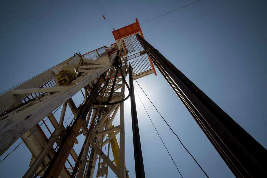 A rig drills a well for Mewbourne Oil Co. near Malaga, New Mexico, in this file photo. The chairman of Tudor Pickering Holt said at the PBPA Annual Meeting the Permian will continue to grow production, just at a more moderate pace. Photo: Jon Shapley, Houston Chronicle / Staff Photographer / © 2019 Houston Chronicle