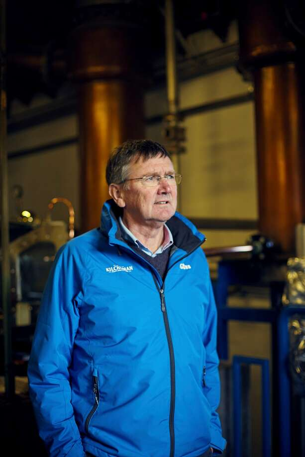 Anthony Wills, owner of Kilchoman Distillery, on the island of Islay in Scotland, Oct. 11, 2019. The 25 percent U.S. tariffs to be imposed Friday trigger headaches for single malt distilleries, already struggling with Brexit. (Suzie Howell/The New York Times) Photo: SUZIE HOWELL;Suzie Howell / New York Times