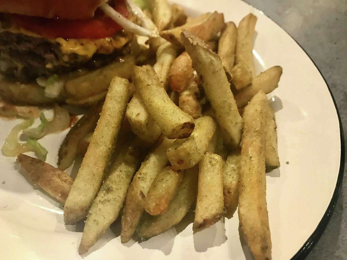Beef-tallow fries at Cherry Block in Bravery Chef Hall