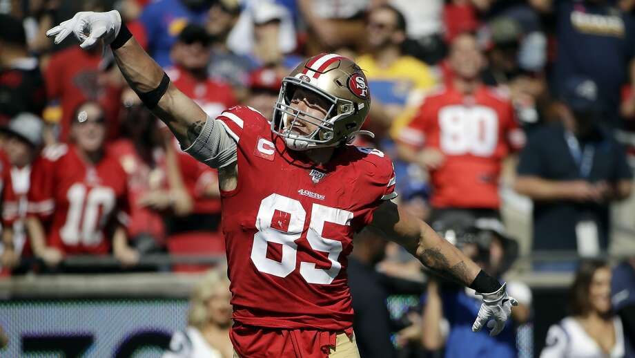 Will George Kittle play vs. Washington? Kyle Shanahan gives injury update