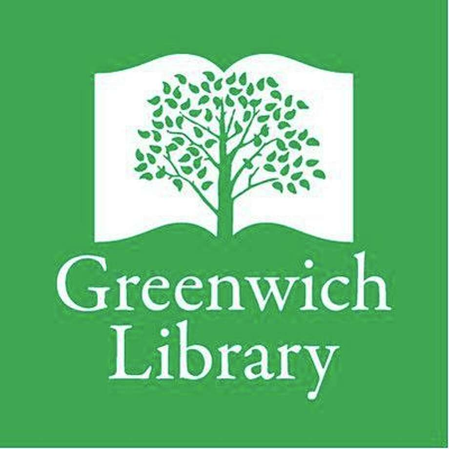 The century-old Pin Oak Tree is part of the Greenwich Library's logo. Photo: Greenwich Library