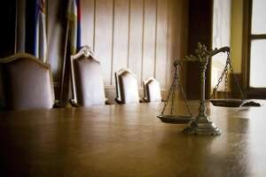 File photo of scales of justice