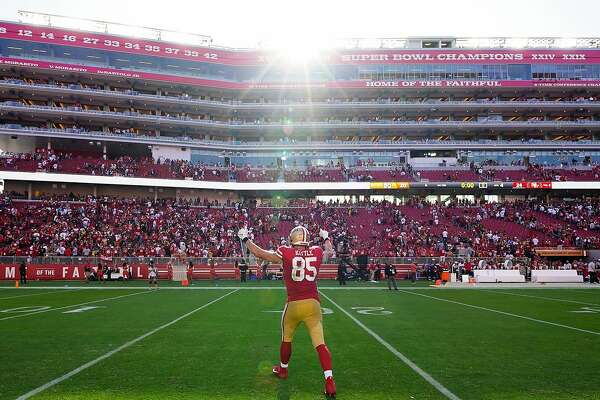 49ers' George Kittle: Big numbers, big personality, soft spot for Dad's wisdom