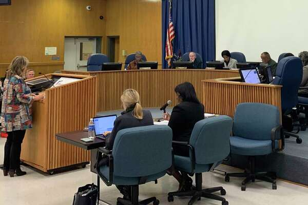 The BISD school board on Thursday had its first regular meeting since Tropical Depression Imelda flooded two schools in the district.