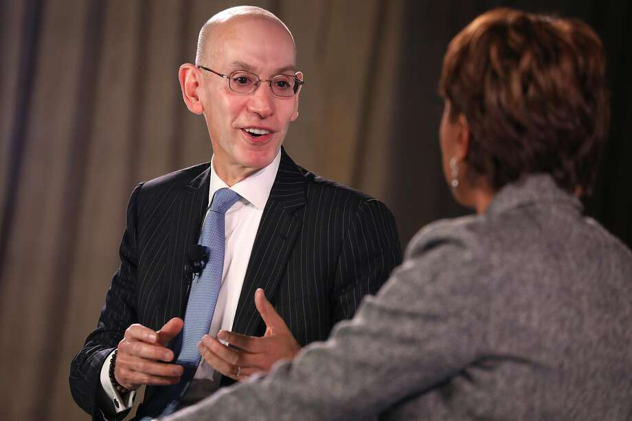 "Adam Silver said the NBA is feeling ""substantial"" financial losses from China. Photo: Brian Ach / Getty Images For TIME 100 Health Summit"