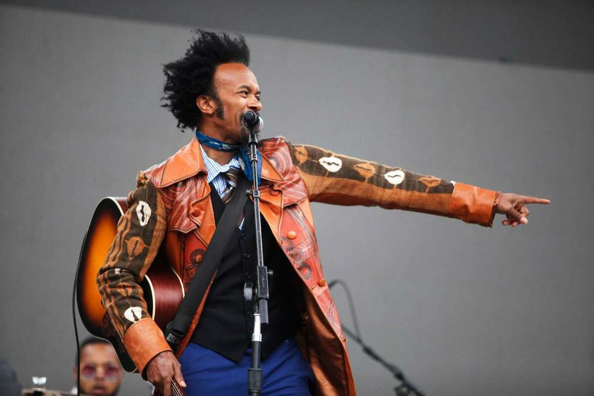Fantastic Negrito performs at the Outside Lands Music Festival at Golden Gate Park on Aug. 6, 2016 in San Francisco, California.
