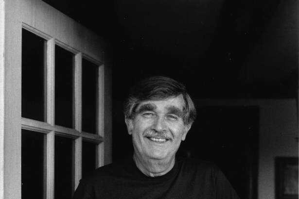 Cartoonist Dana Fradon in Newtown, Connecticut, in 1988.