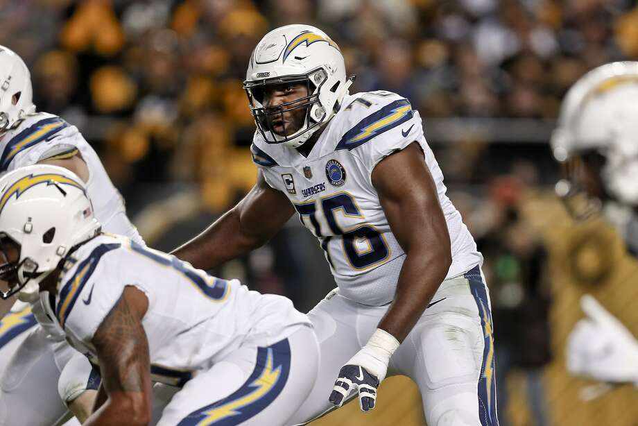 Chargers' Russell Okung happy to be back practicing after embolism