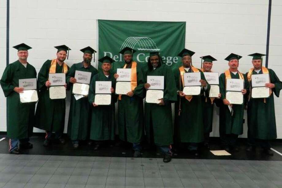 Delta College and the Saginaw Correctional Facility in Freeland recently held a graduation ceremony.(Photo provided)