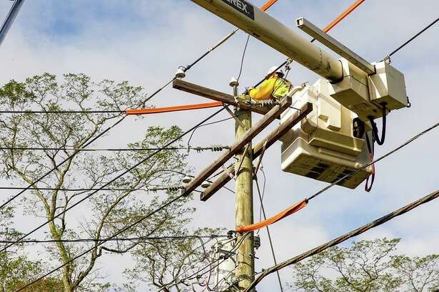 United Illuminating and Eversource are working to restore power after a strong storm on Thursday, Oct. 17, 2019.