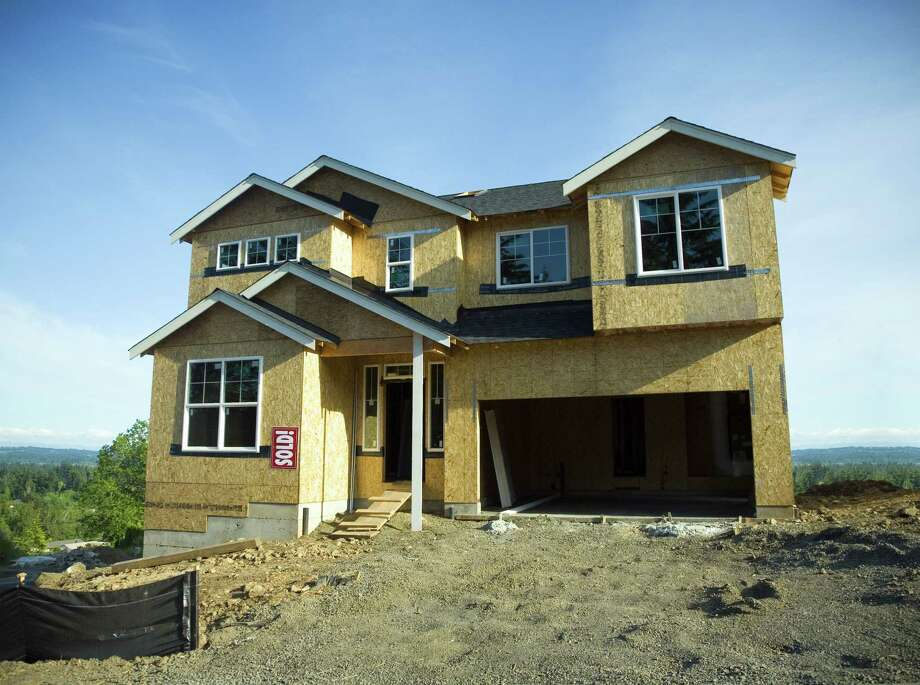 A house under construction. (Getty Images/iStockphoto) Photo: Kativ / Kativ