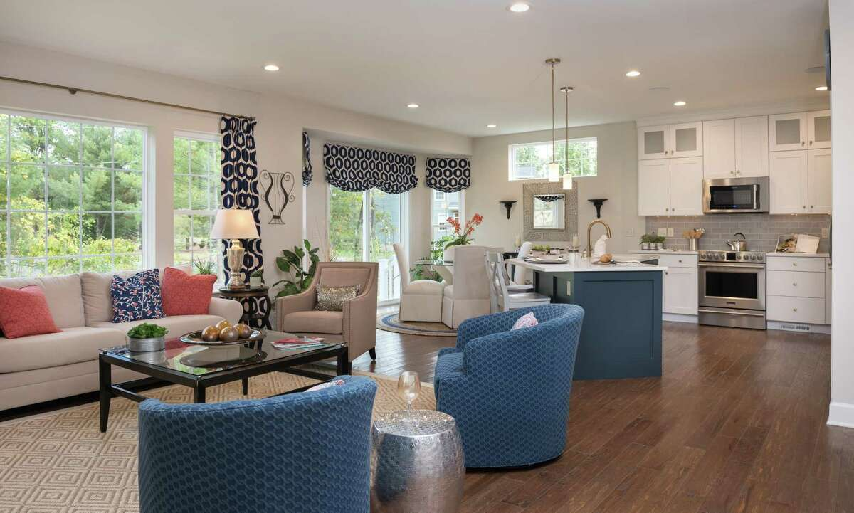The interior of the model home at Linden Woods, a development in Halfmoon by the Michaels Group. Exterior maintenance is included in the sale of the houses, priced starting in the $330,000 range. (Photo provided)