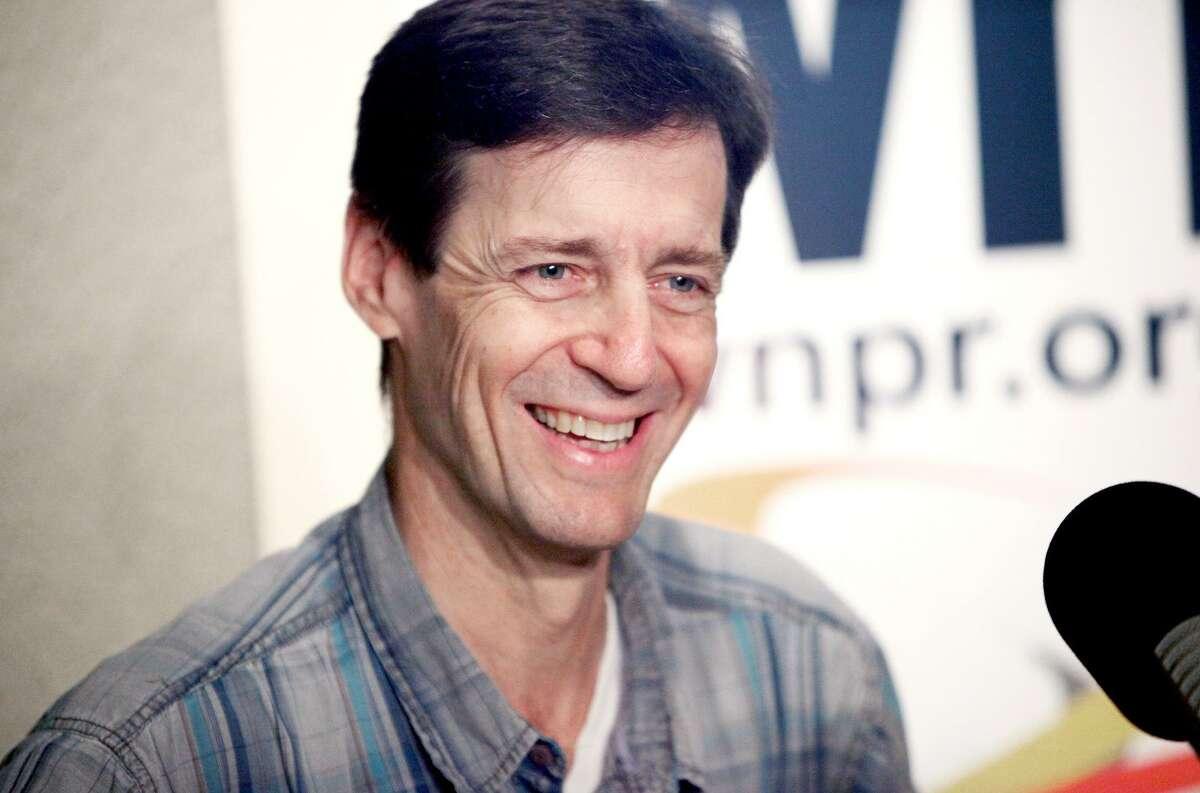 David Lutken, who plays Woody Guthrie in