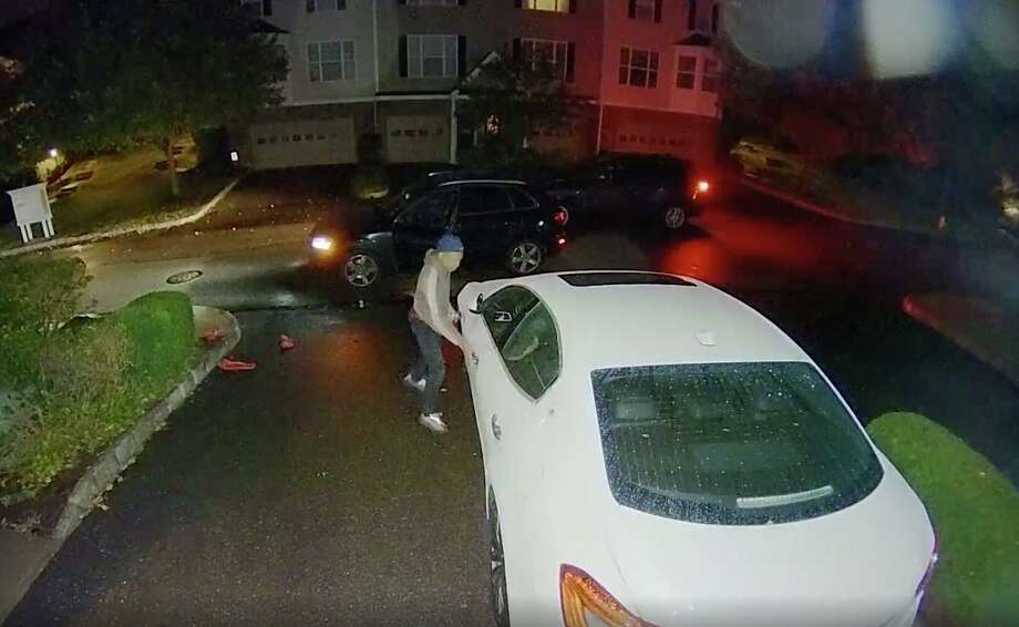 Footage from a Woodland Hills home security camera. Photo: Ring