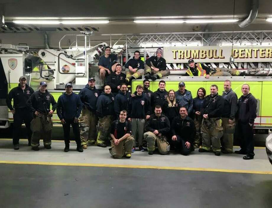 The Trumbull Volunteer Fire Co. will hold an open house Sunday at the Station #1, 860 White Plains Road. Photo: Contributed