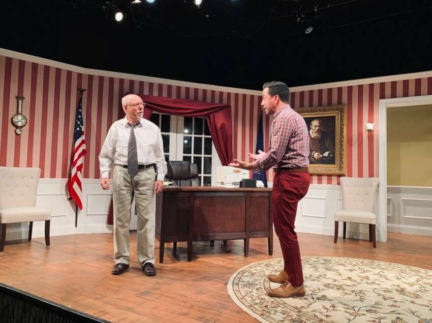 Rich Angehr, left, and Ian LaChance in the Curtain Call Theatre production of