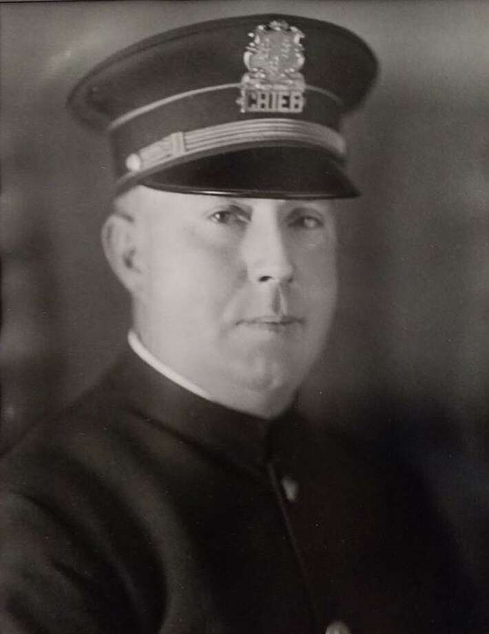 Derby Police Chief Daniel T. O'Dell had a miraculous escape from a bullet while serving the Police Department in 1911. Photo: Derby Police Photo