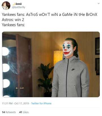 Memes Hilariously Roast Trash Yankees Fans As Astros Leave New