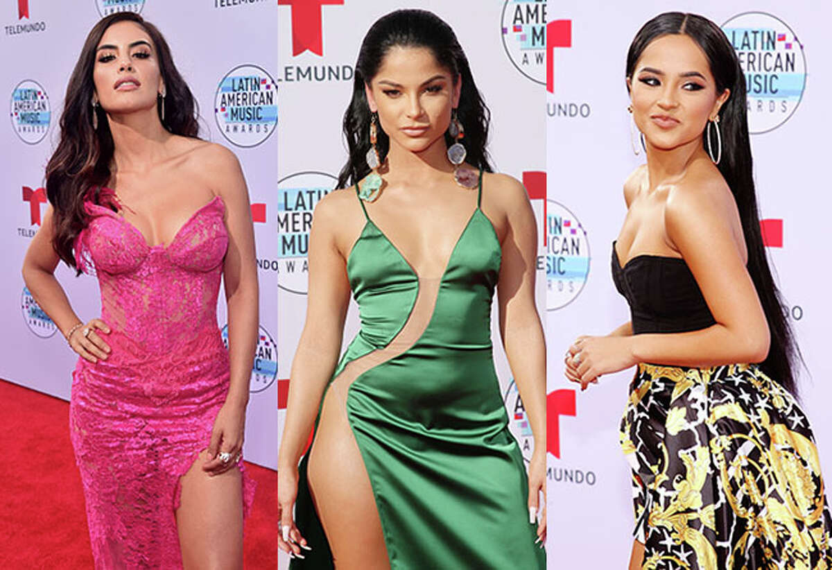 Latin American stars lit up the red carpet Thursday night at the Latin AMAs. See the best looks...