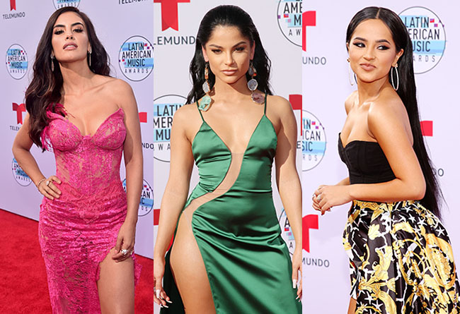 Hottest red carpet fashion from the Latin American Music Awards