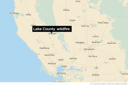 Highway 29 reopened after Lake County wildfire forces evacuations