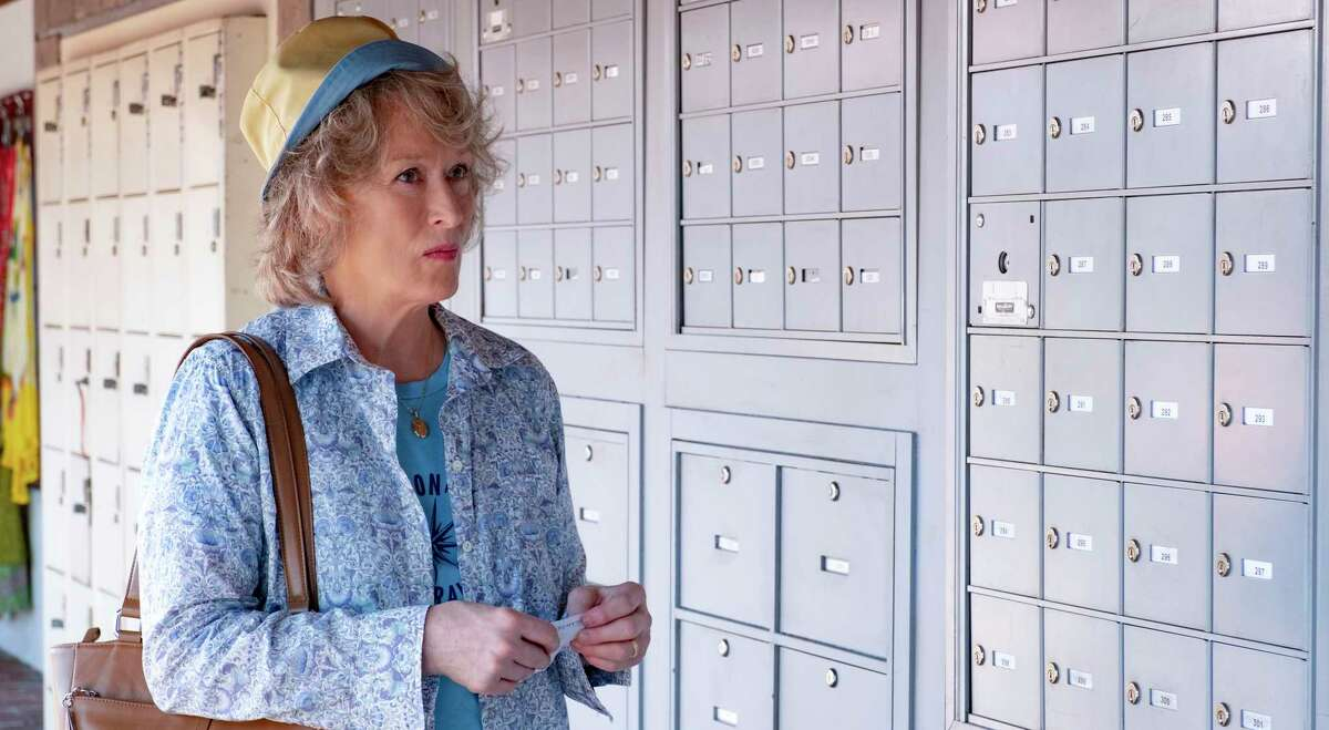 This image released by Netflix shows Meryl Streep in a scene from