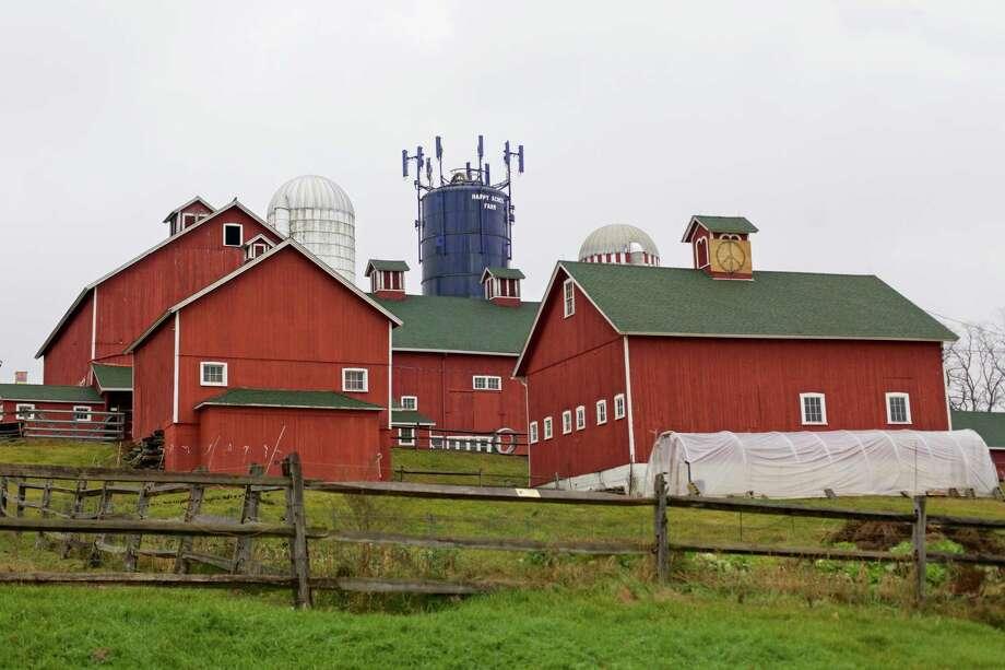 Happy Acres Farm in Sherman, Dec. 22, 2015. Photo: Trish Haldin / The News-Times Freelance