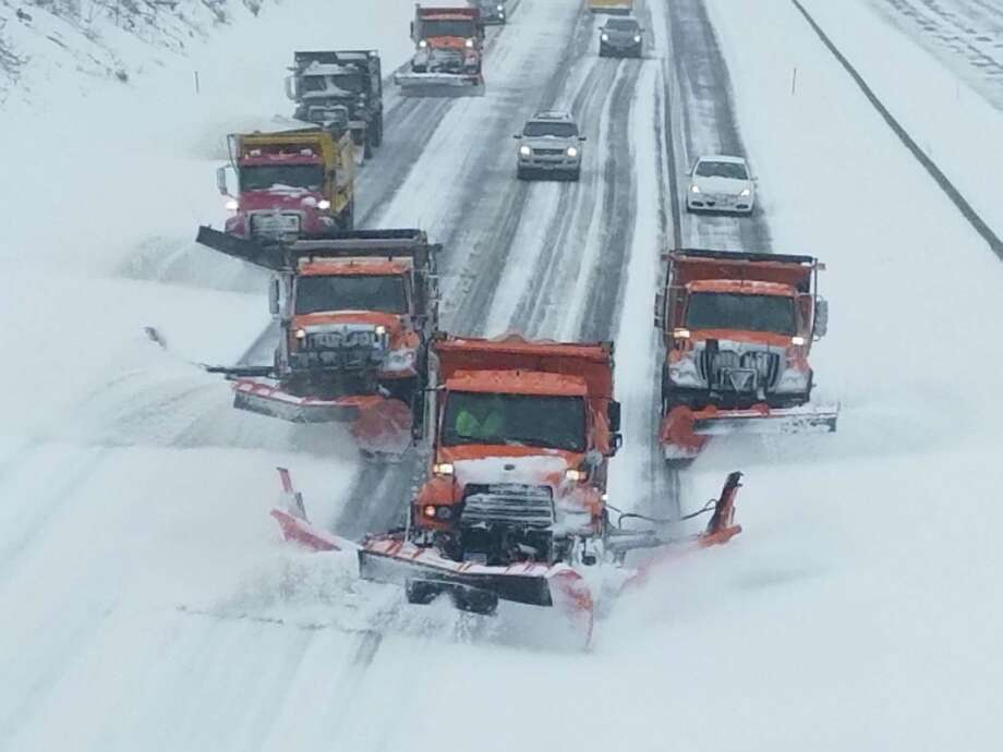 The stalemate between Gov. Ned Lamont and legislators over long-term transportation funding has caused the delay in $30 million in promised local aid for fall tree trimming and winter snow removal. Photo: File Photo