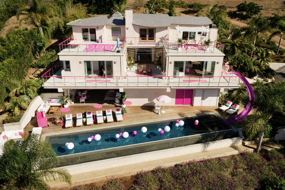 Through Airbnb, the life-size so-called Barbie Dreamhouse in Malibu, Cali., will be available to book on October 23 at 11 a.m. by one guest and up to three friends for a two-night stay (Sunday, Oct. 27 to Tuesday, Oct. 29). The cost is $60 a night. Photo: Courtesy Airbnb
