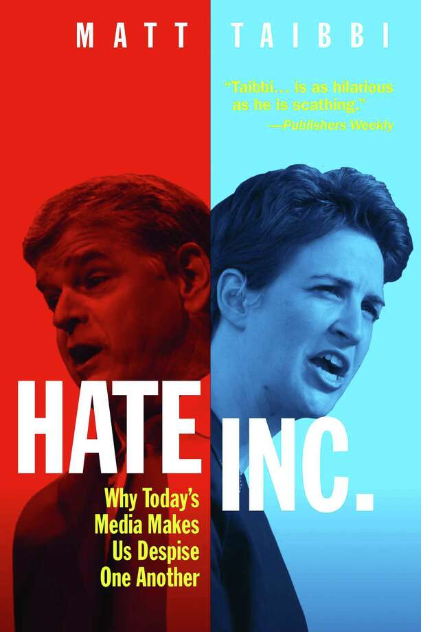 Hate Inc.: Why Today's Media Makes Us Despise One Another Photo: OR Books, Handout / Handout